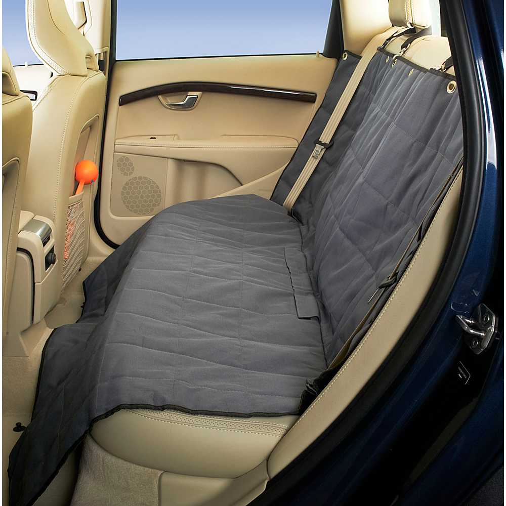 High Road Wag n Ride Waterproof Dog Car Seat Cover Gray High Road Trunk and Transport Organization