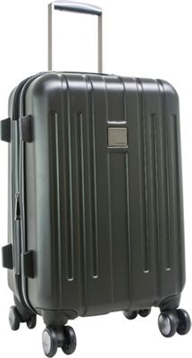 Calvin Klein Luggage Cortlandt 3.0 24 Upright Hardside Spinner Black - Calvin Klein Luggage Softside Checked