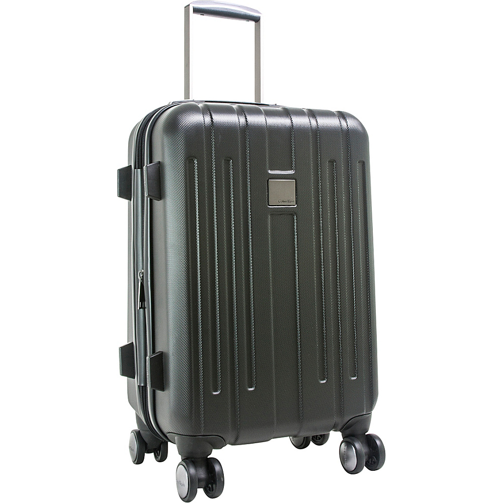 Calvin Klein Luggage Cortlandt 3.0 24 Upright Hardside Spinner Black Calvin Klein Luggage Softside Checked