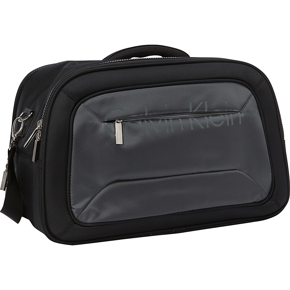 Calvin Klein Luggage Tremont 18 Softside Cabin Duffel Grey Calvin Klein Luggage Travel Duffels