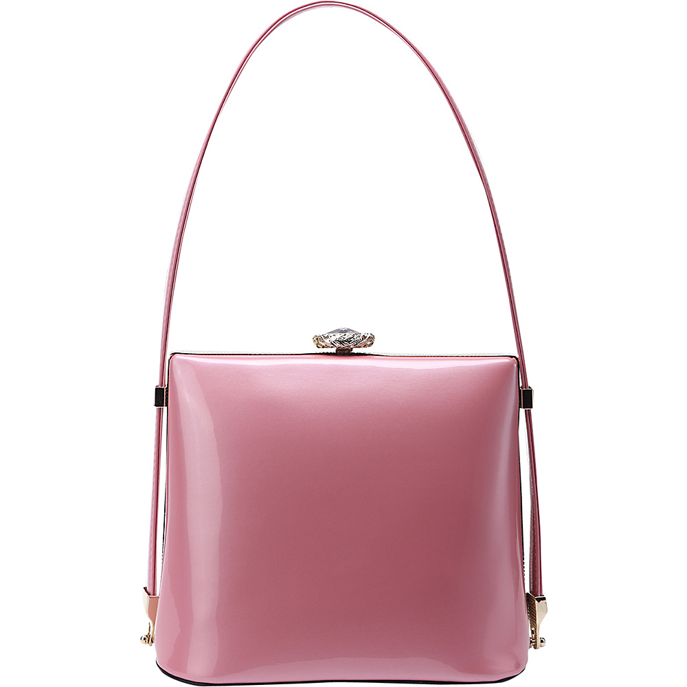 MKF Collection by Mia K. Farrow Lily Shoulder Bag Pink - MKF Collection by Mia K. Farrow Manmade Handbags - Handbags, Manmade Handbags