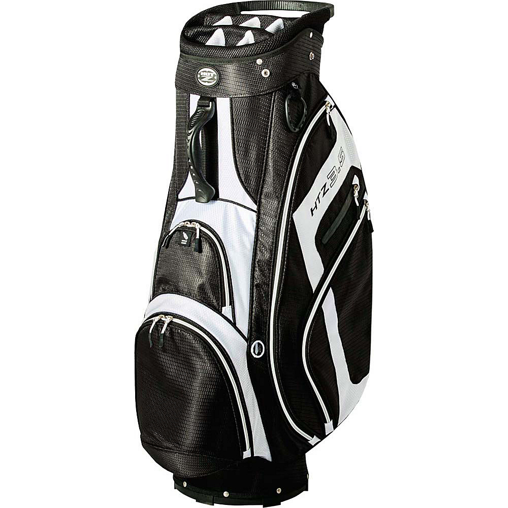 Hot Z Golf Bags 3.5 Cart Bag Black Hot Z Golf Bags Golf Bags