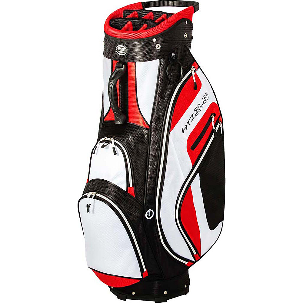 Hot Z Golf Bags 3.5 Cart Bag Red Hot Z Golf Bags Golf Bags