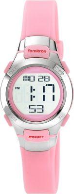 armitron sport womens chronograph pink digital