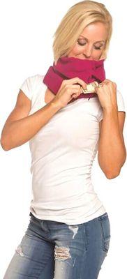 Sholdit Gaiter with Pocket Fuschia - Sholdit Hats/Gloves/Scarves