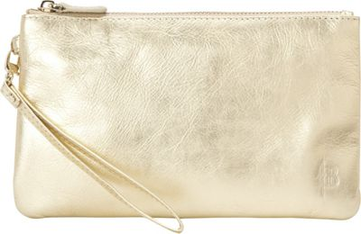 HButler The Mighty Purse Phone Charging Wristlet-Shimmer Gold Shimmer - HButler Leather Handbags