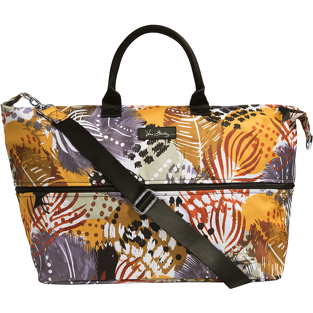 Vera Bradley Lighten Up Expandable Travel Bag- Retired Prints Impressionista - Vera Bradley Small Rolling Luggage