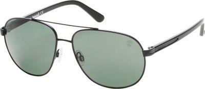 Timberland Eyewear Aviator Matte Sunglasses Matte Black - Timberland Eyewear Eyewear