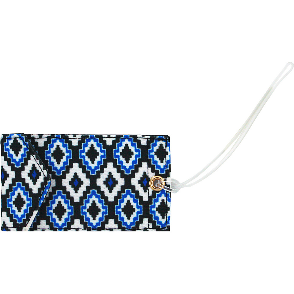 Capri Designs Josephine Kimberling Jen Luggage Tag Nature Trail Capri Designs Luggage Accessories