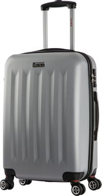 inUSA Philadelphia Collection 23 inch Lightweight Hardside Spinner Suitcase Grey - inUSA Hardside Checked