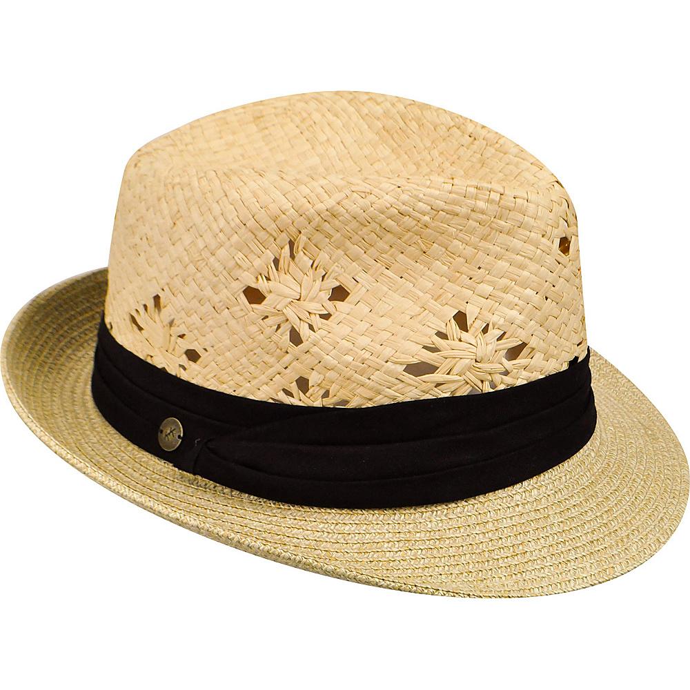 Karen Kane Hats Fedora With Pug Band Hat Natural Black Karen Kane Hats Hats Gloves Scarves