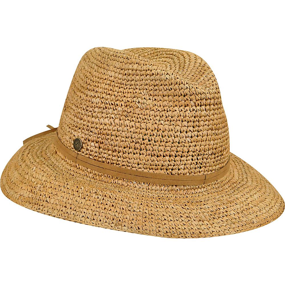 Karen Kane Hats Crochet Raffia Fedora Hat Honey Karen Kane Hats Hats Gloves Scarves