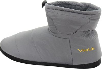 Volt Heated Clothing Heated Slippers Grey - Medium - Volt Heated Clothing Men's Footwear
