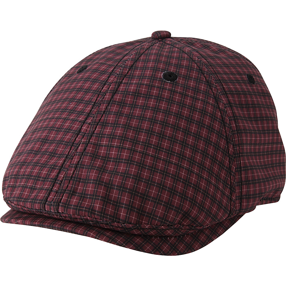 Ben Sherman Gingham Gatsby Hat S/M - Cranberry - L/XL - Ben Sherman Hats/Gloves/Scarves