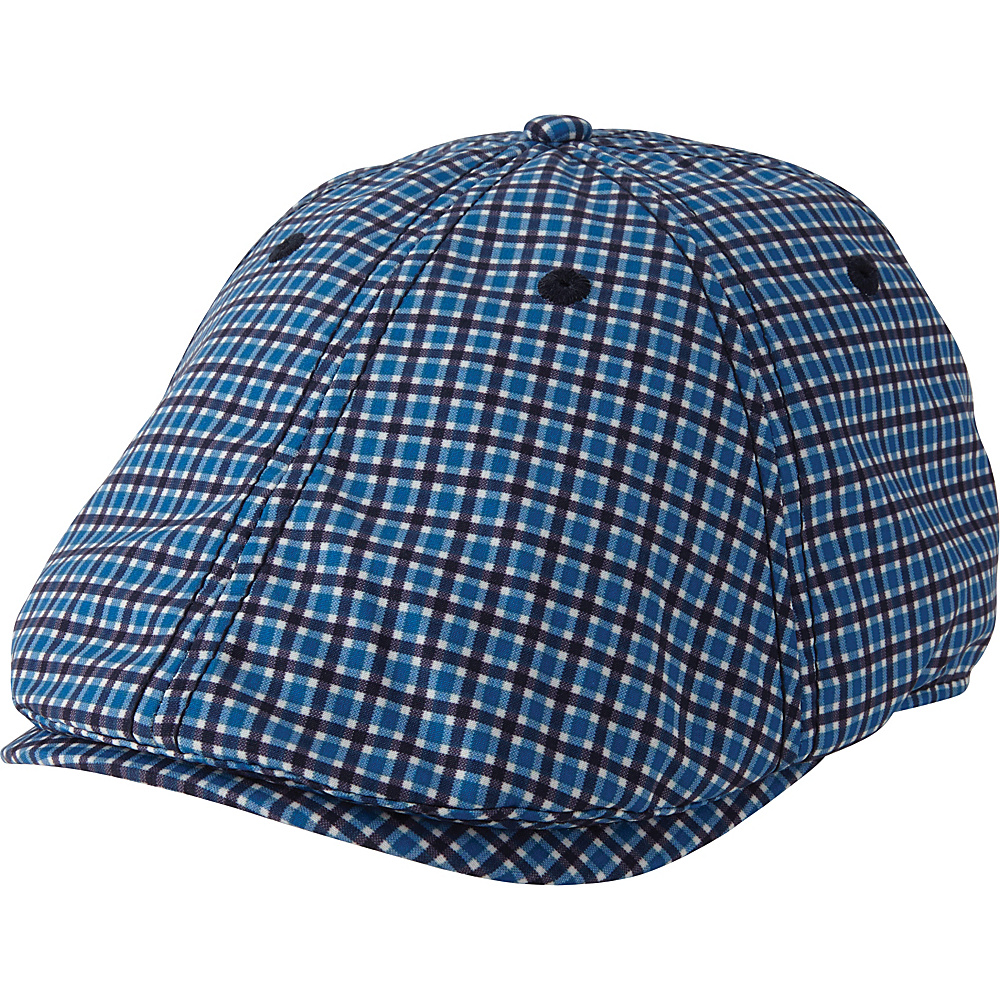 Ben Sherman Gingham Gatsby Hat L/XL - Dark Teal - LXL - Ben Sherman Hats/Gloves/Scarves