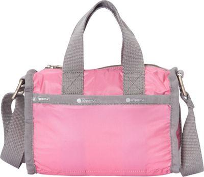 LeSportsac Mini Weekender Bag Begonia C - LeSportsac Fabric Handbags
