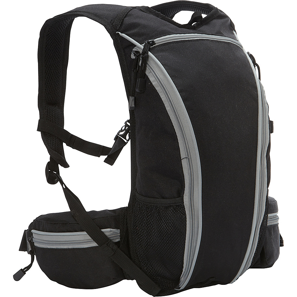 Everest Mountain Daypack Black - Everest Day Hiking Backpacks - Outdoor, Day Hiking Backpacks