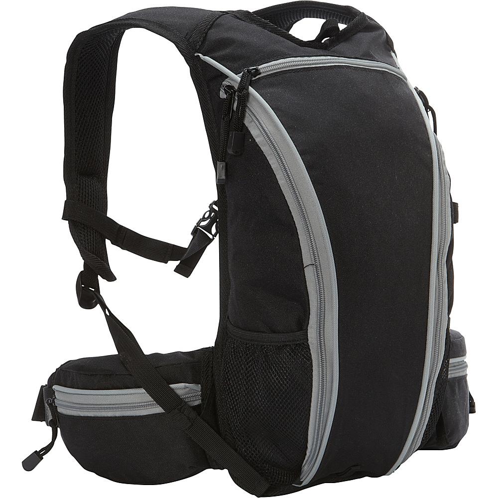 Everest Mountain Daypack Black - Everest Day Hiking Backpacks - Outdoor, Day Hiking Backpacks