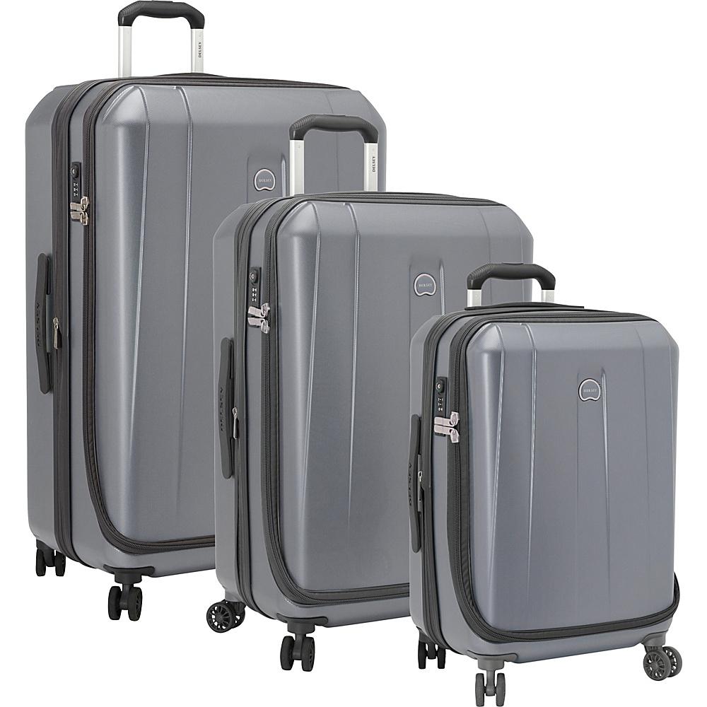 delsey helium shadow 3 0 3 piece expandable hardside luggage set new ebay. Black Bedroom Furniture Sets. Home Design Ideas
