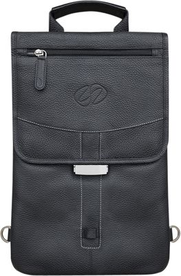 MacCase Premium Leather iPad Pro Flight Jacket w/ Pouch Option Black - MacCase Electronic Cases