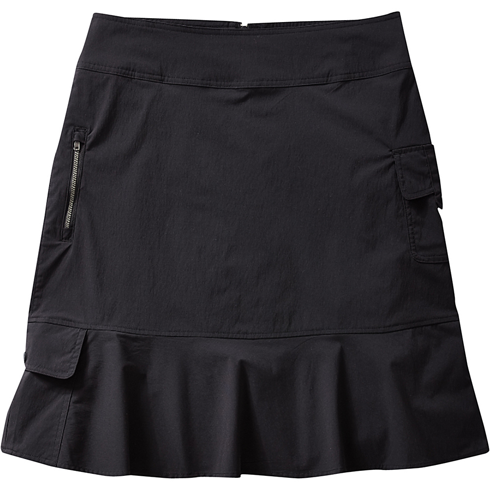 Royal Robbins Womens Discovery Skirt 2 - Jet Black - Royal Robbins Womens Apparel - Apparel & Footwear, Women's Apparel