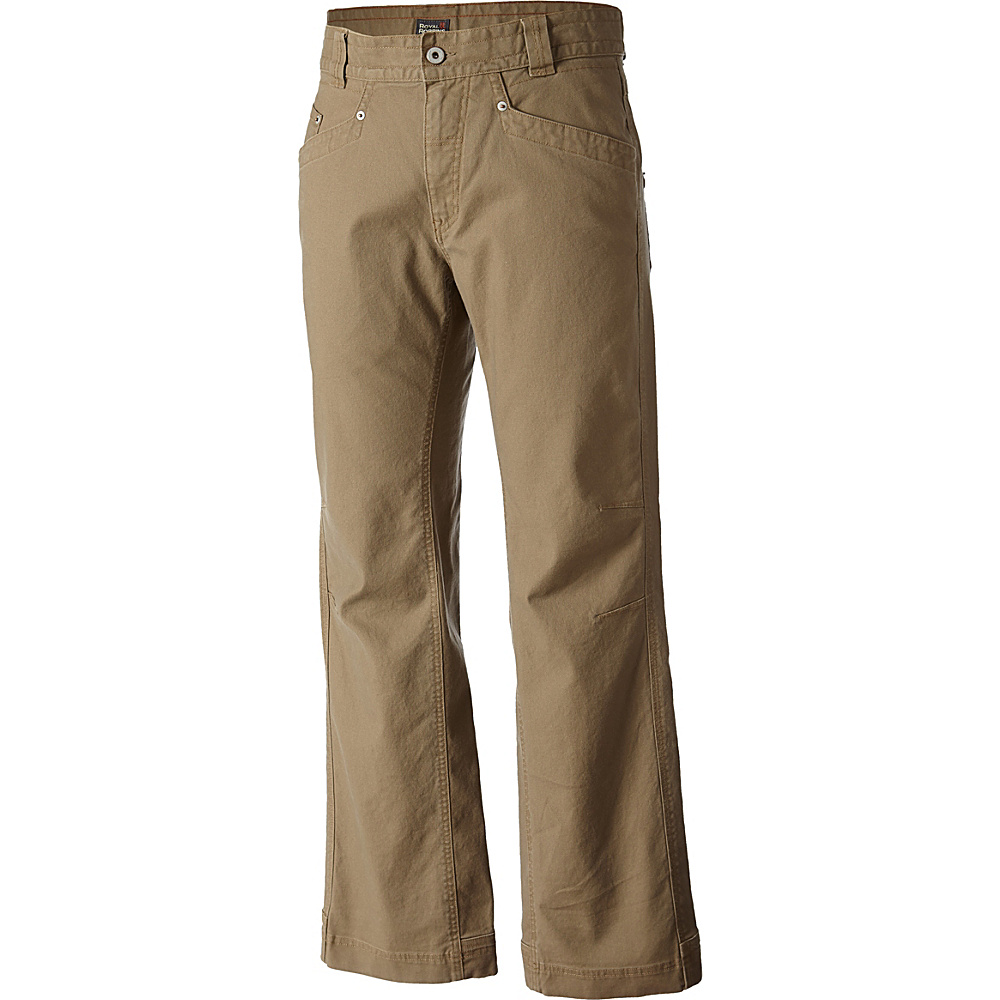 Royal Robbins Billy Goat Stretch 6 Pocket Pant - Long 46 - Khaki - Royal Robbins Mens Apparel - Apparel & Footwear, Men's Apparel