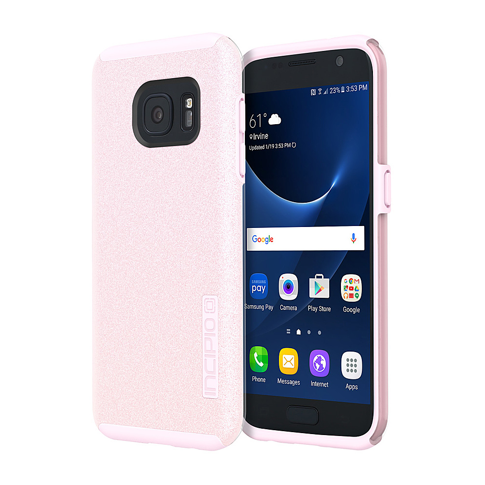 Incipio Design Series DualPro Glitter for Samsung Galaxy S7 Pink - Incipio Electronic Cases - Technology, Electronic Cases