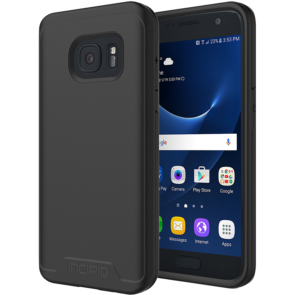 Incipio Performance Series Level 1 for Samsung Galaxy S7 Black - Incipio Electronic Cases
