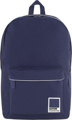 Pantone X Redland Large Backpack Navy Mood Indigo - Pantone Business & Laptop Backpacks