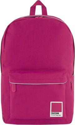 Pantone X Redland Large Backpack Pink Cabaret - Pantone Business & Laptop Backpacks