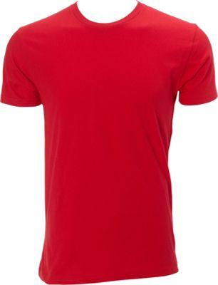 Simplex Apparel Premium Mens Crew Tee 3XL - Red - Simplex Apparel Men's Apparel