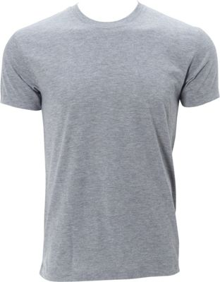 Simplex Apparel Triblend Mens Crew Tee L - Heather Grey - Simplex Apparel Men's Apparel