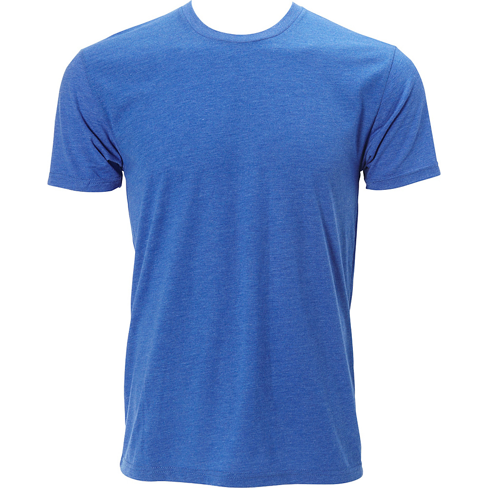 Simplex Apparel Triblend Mens Crew Tee S - Royal - Simplex Apparel Mens Apparel - Apparel & Footwear, Men's Apparel