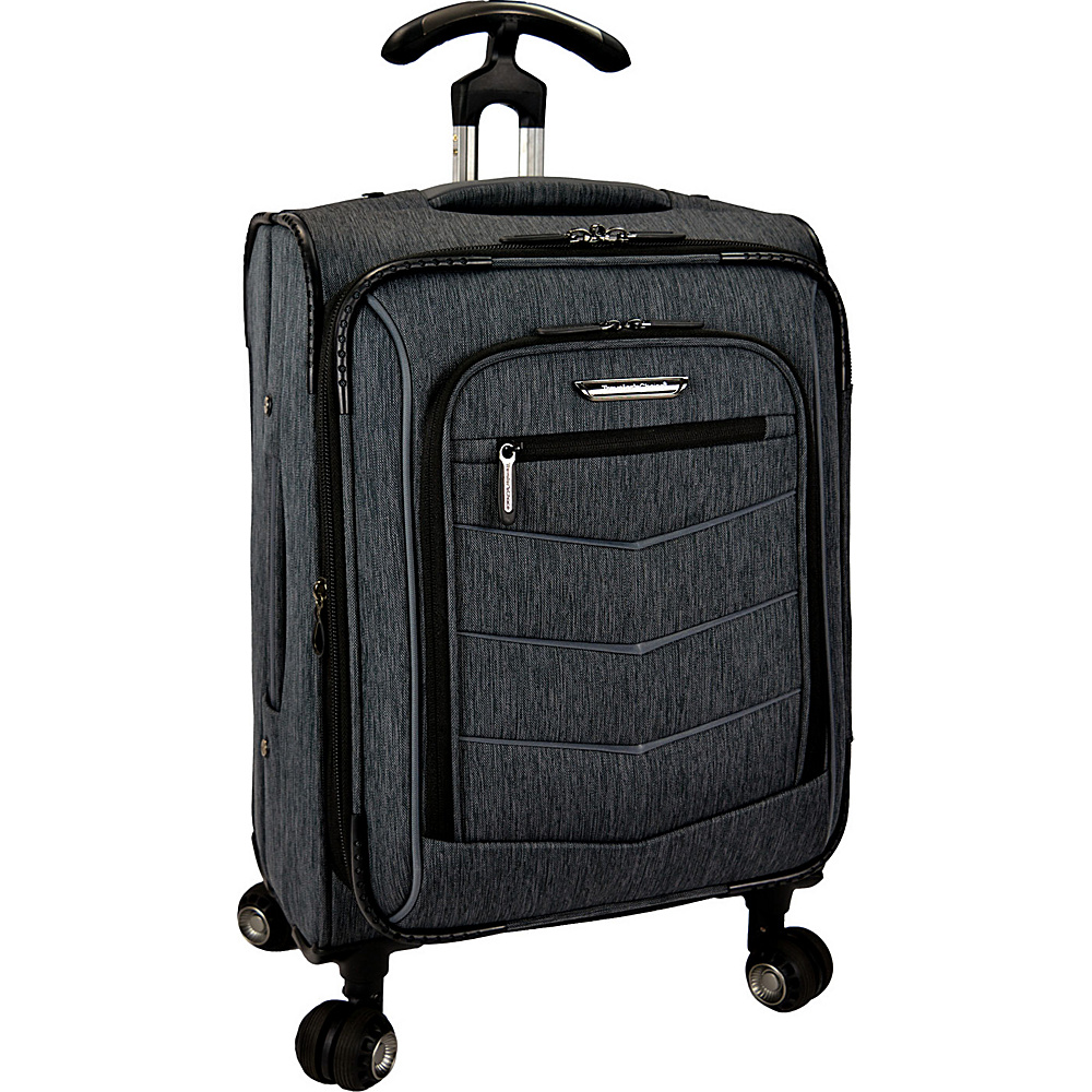 Traveler s Choice Silverwood 22 Softside Spinner Luggage Gray Traveler s Choice Softside Checked