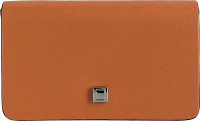 Image of Lodis Blair Mini Card Case Toffee/Taupe - Lodis Women's Wallets