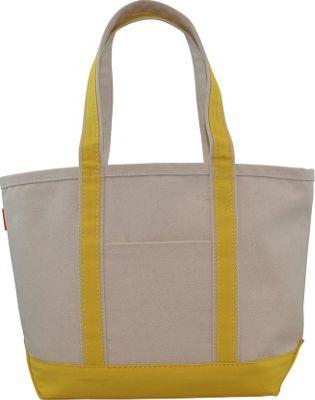 CB Station Boat Tote Medium Yellow - CB Station Fabric Handbags