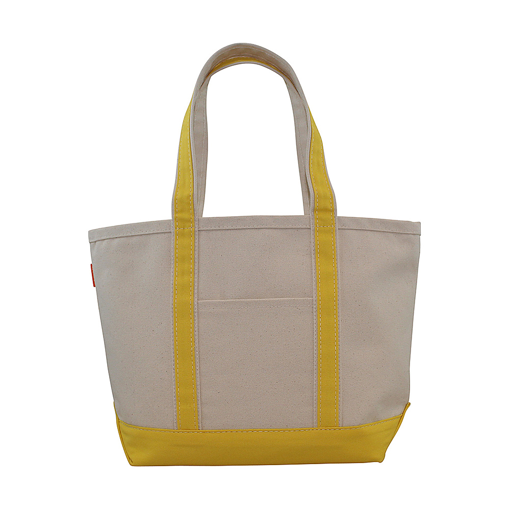 CB Station Boat Tote Medium Yellow CB Station Fabric Handbags