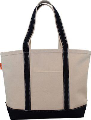 CB Station Boat Tote Medium Navy - CB Station Fabric Handbags