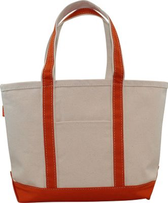 CB Station Boat Tote Medium Orange - CB Station Fabric Handbags
