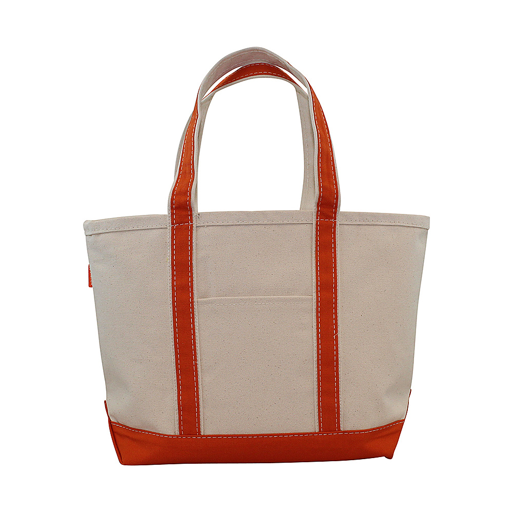 CB Station Boat Tote Medium Orange CB Station Fabric Handbags