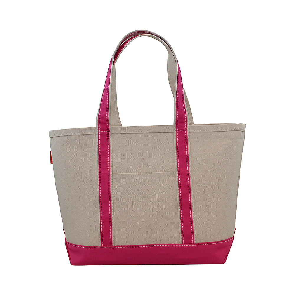 CB Station Boat Tote Medium Hot Pink CB Station Fabric Handbags
