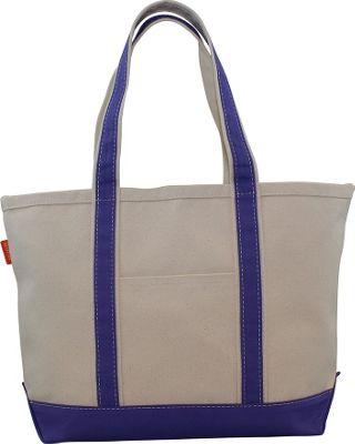 CB Station Boat Tote Medium Violet - CB Station Fabric Handbags