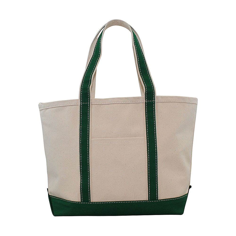 CB Station Boat Tote Medium Emerald CB Station Fabric Handbags