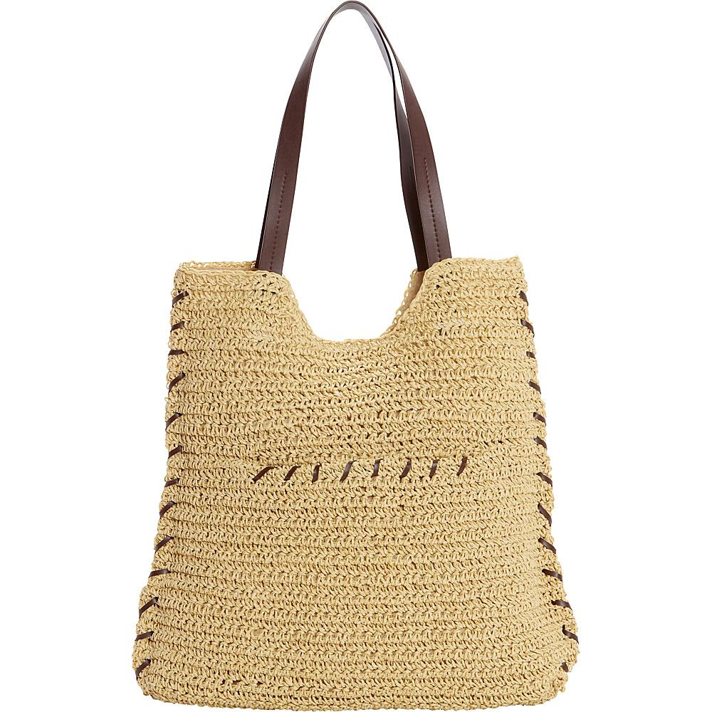 Sun N Sand Prairie Haze Tote Natural - Sun N Sand Fabric Handbags - Handbags, Fabric Handbags