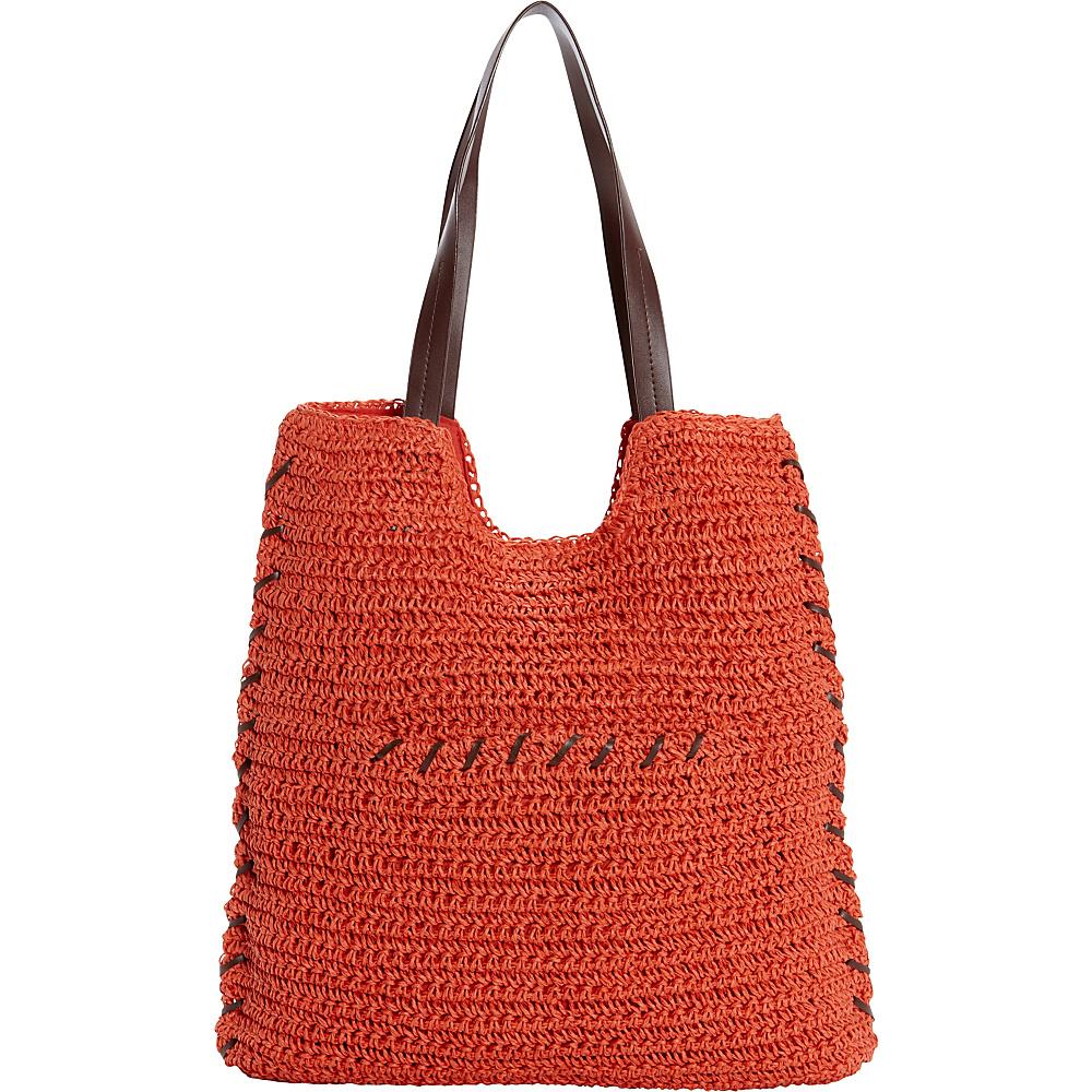 Sun N Sand Prairie Haze Tote Rust - Sun N Sand Fabric Handbags - Handbags, Fabric Handbags