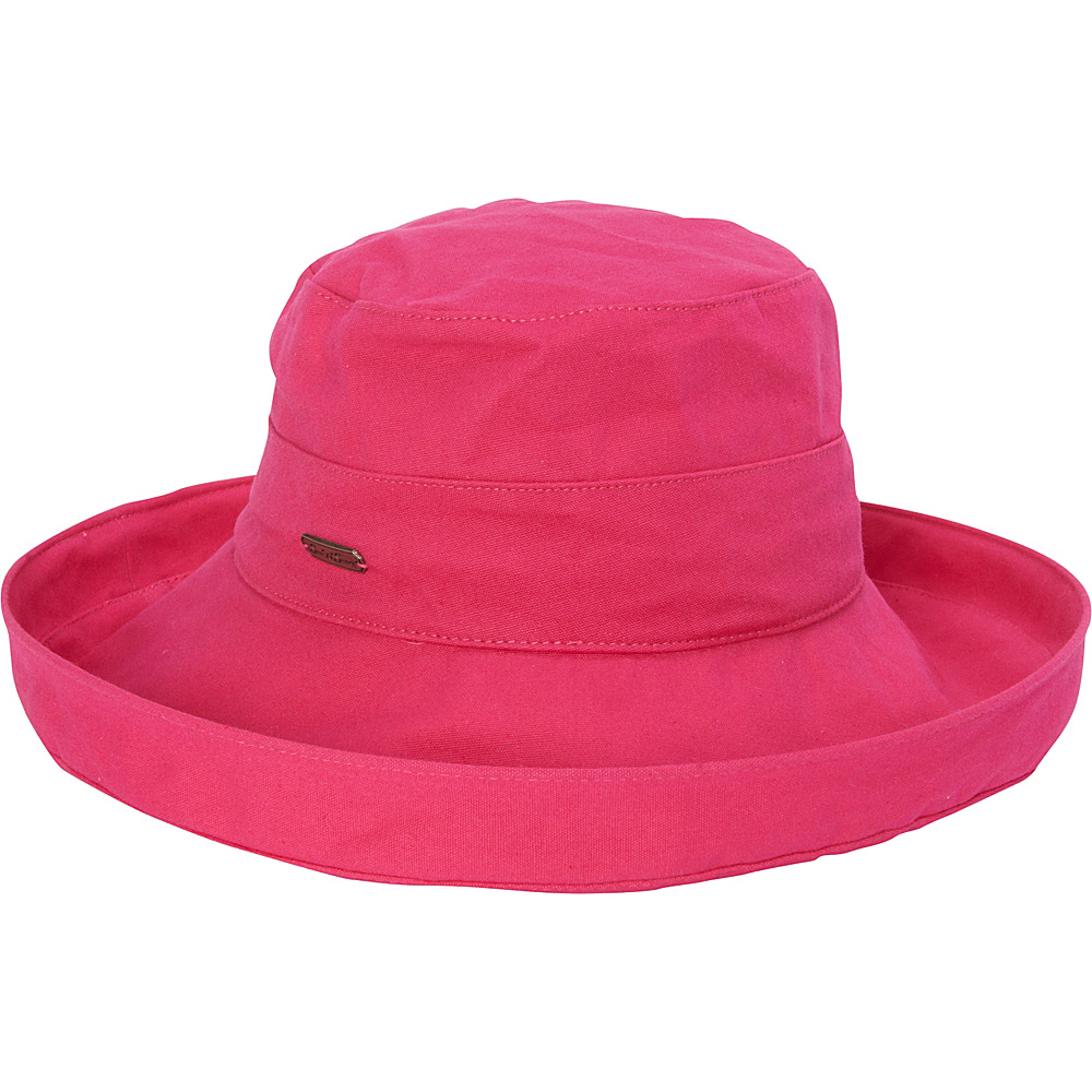 Sun N Sand Breeze Fabric Hat One Size - Fuschia - Sun N Sand Hats/Gloves/Scarves - Fashion Accessories, Hats/Gloves/Scarves