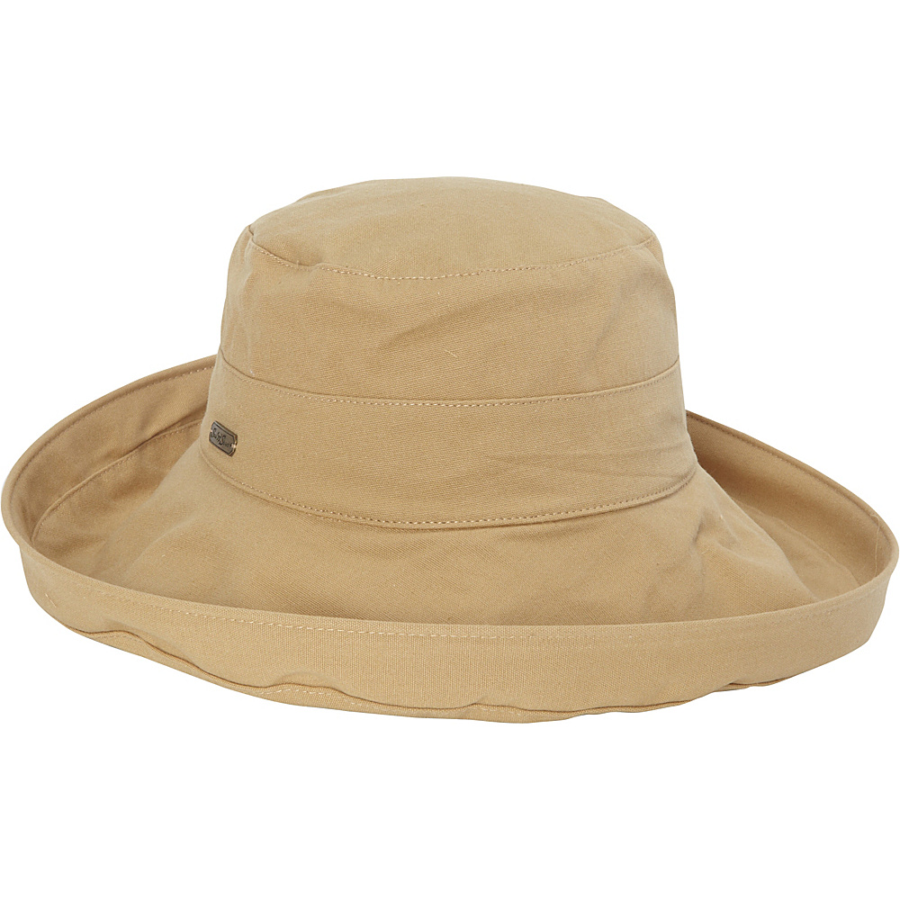 Sun N Sand Breeze Fabric Hat One Size - Khaki - Sun N Sand Hats/Gloves/Scarves - Fashion Accessories, Hats/Gloves/Scarves