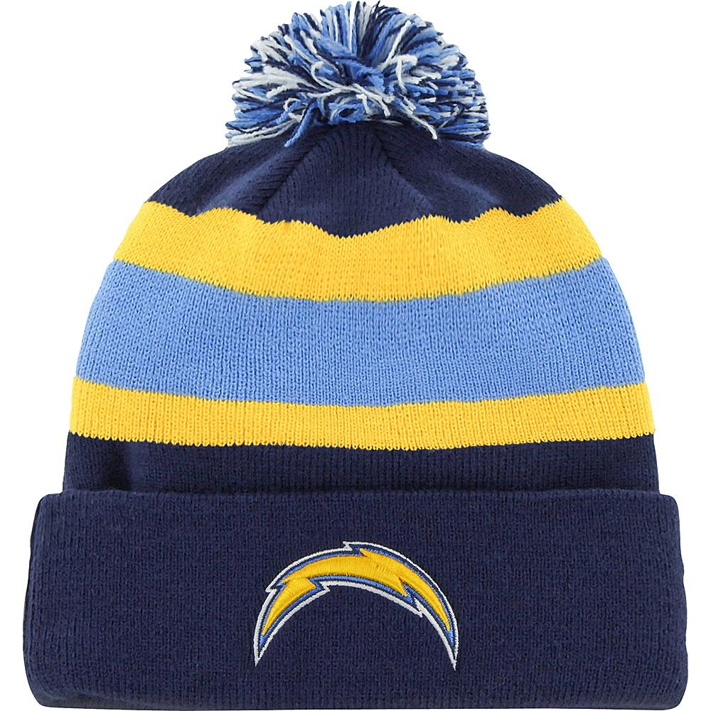 Fan Favorites Breakaway Beanie with Pom San Diego Chargers Fan Favorites Hats Gloves Scarves