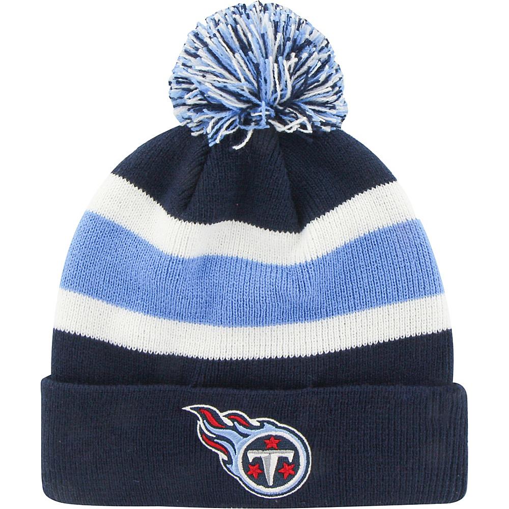 Fan Favorites Breakaway Beanie with Pom Tennessee Titans Fan Favorites Hats Gloves Scarves