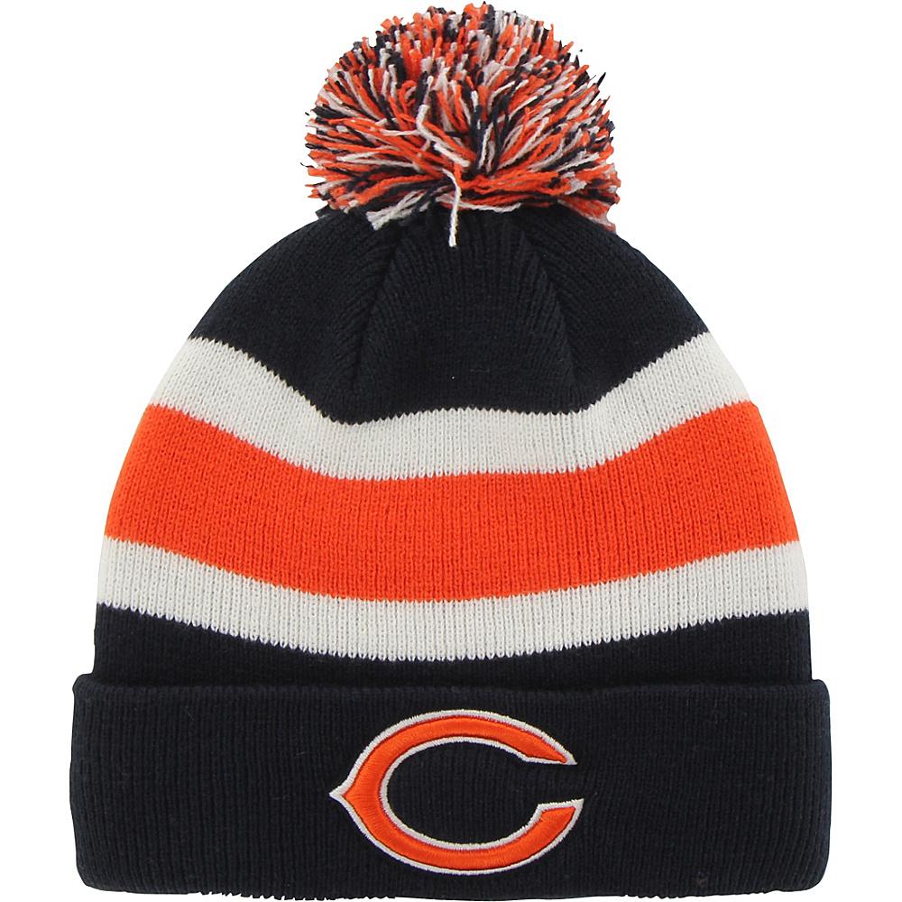 Fan Favorites Breakaway Beanie with Pom Chicago Bears Fan Favorites Hats Gloves Scarves